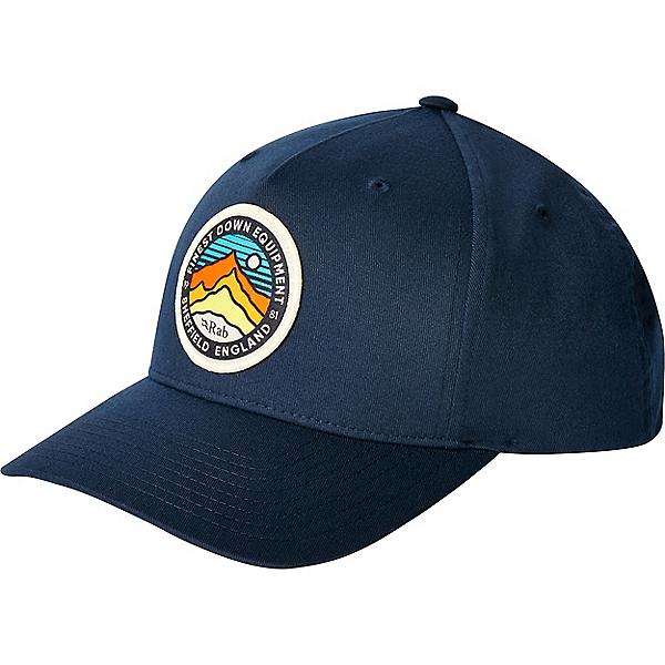 Rab Base Cap - None/Navy 3 Peaks, Navy 3 Peaks, 600