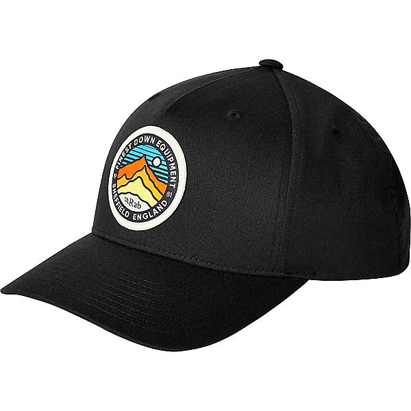 Rab Base Cap - None/Black 3 Peaks, Black 3 Peaks, 600