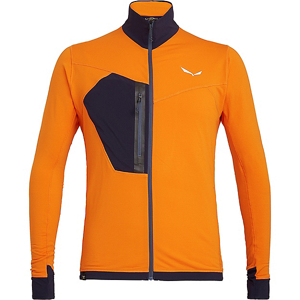 Salewa Pedroc PTC Full Zip - Men's - XL/Carrot, Carrot, 600