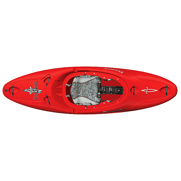 Dagger Mamba Creek 8.1 Kayak Red, Red, 600