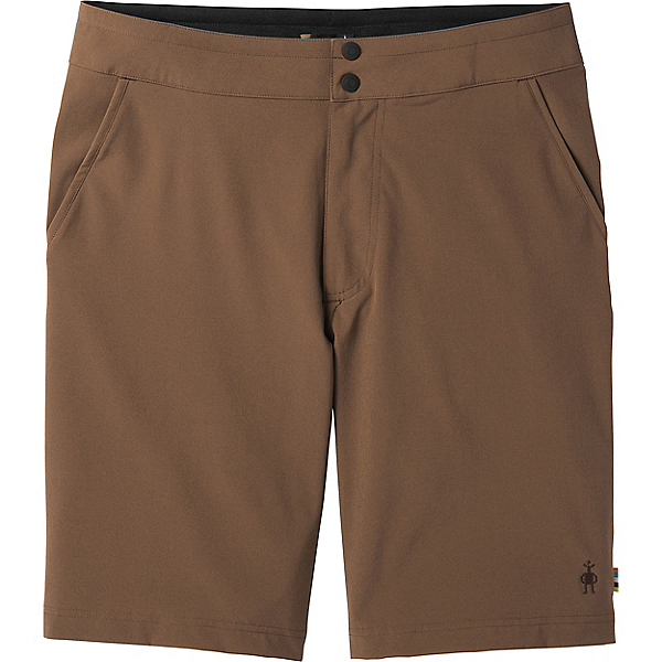 Smartwool Merino Sport 10in Short - Men's - LG/Bourbon, Bourbon, 600