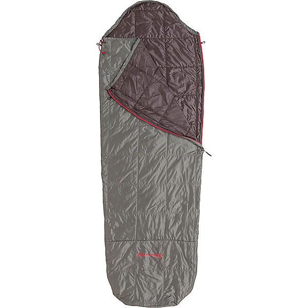 Big Agnes Farrington Synthetic Travel Bag, Gray-Shale Left Zip, 600