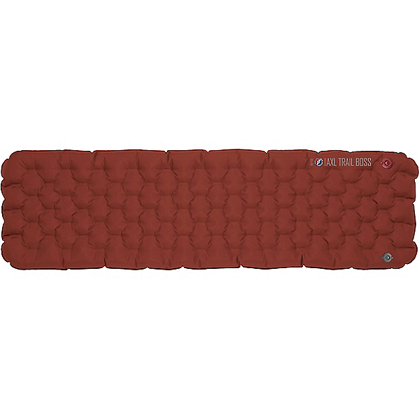 Big Agnes Insulated AXL Trail Boss Air Pad, Burnt Orange-Gray, 600