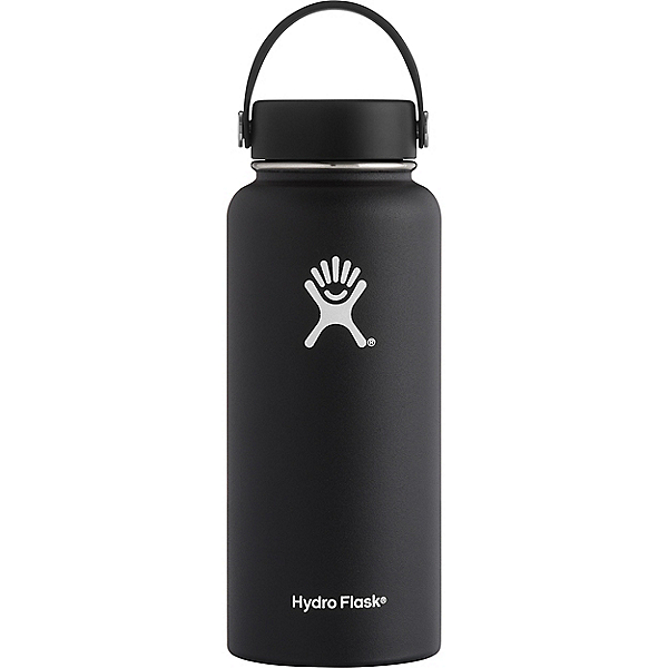 Hydro Flask 32 oz Wide Mouth, Black, 600