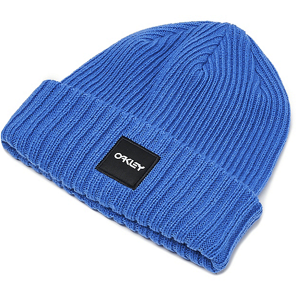 Oakley Beanie Ribbed - None/Electric Blue, Electric Blue, 600