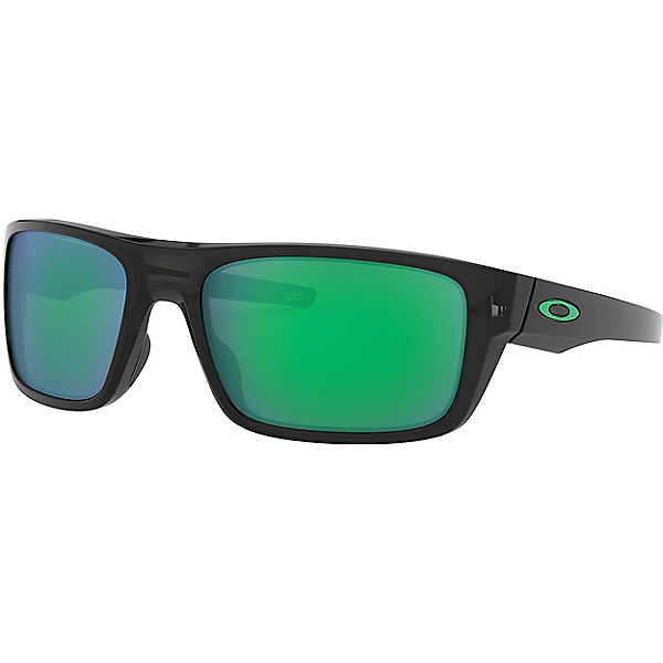 Oakley Drop Point Sunglasses, Blk Ink w-Jade Irid, 600