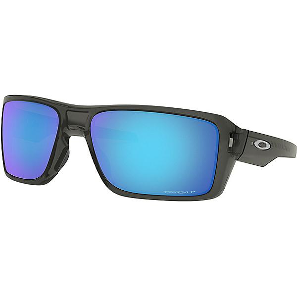 Oakley Double Edge Sunglasses, Grey Smk w-PRIZM Saph Pol, 600
