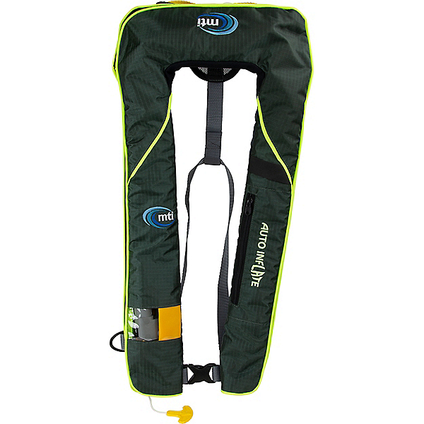 MTI Adventurewear Neptune Inflatable PFD, Midnight Green, 600