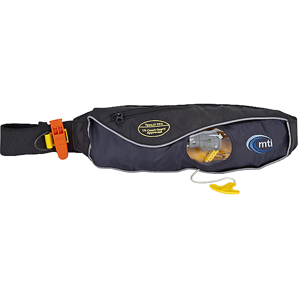 MTI Adventurewear Fluid 2.0 Inflatable  PFD, Moonlight Black, 600