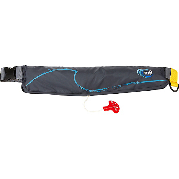 MTI Adventurewear 16g Inflatable Belt Pack PFD, Dark Gray, 600