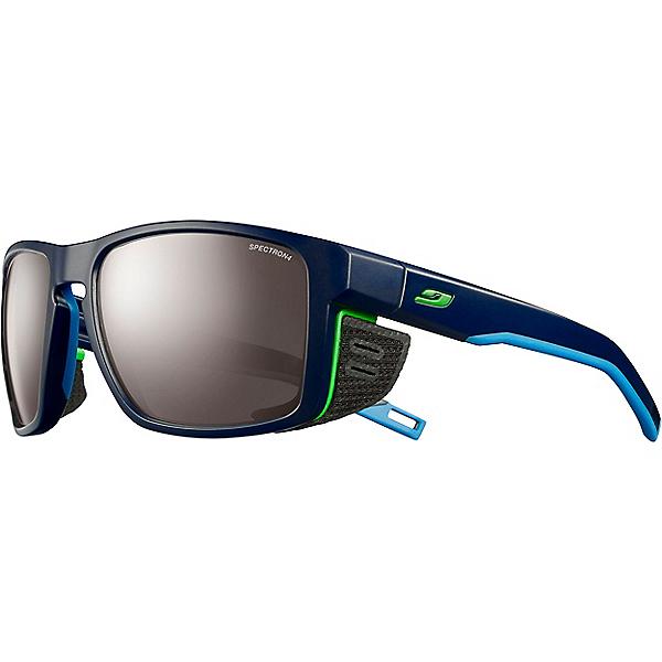 Julbo Shield Sunglasses, Dark Blue-Blu-Green Spectron 4, 600