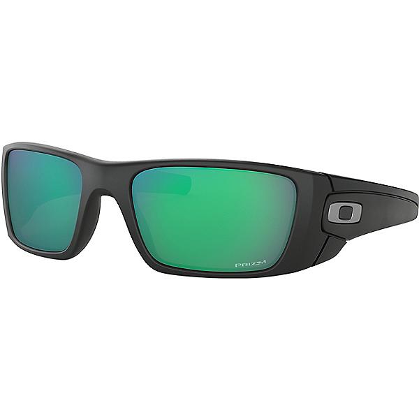 Oakley Fuel Cell Sunglasses, Matte Black w-PRIZM Jade, 600