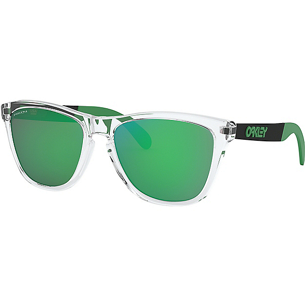Oakley Frogskins Mix Sunglasses - None/Pol Clear w-PRIZM Jade, Pol Clear w-PRIZM Jade, 600