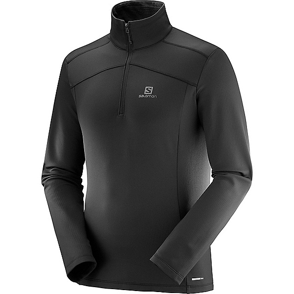 Salomon Discovery Lightweight Half Zip, Black, 600