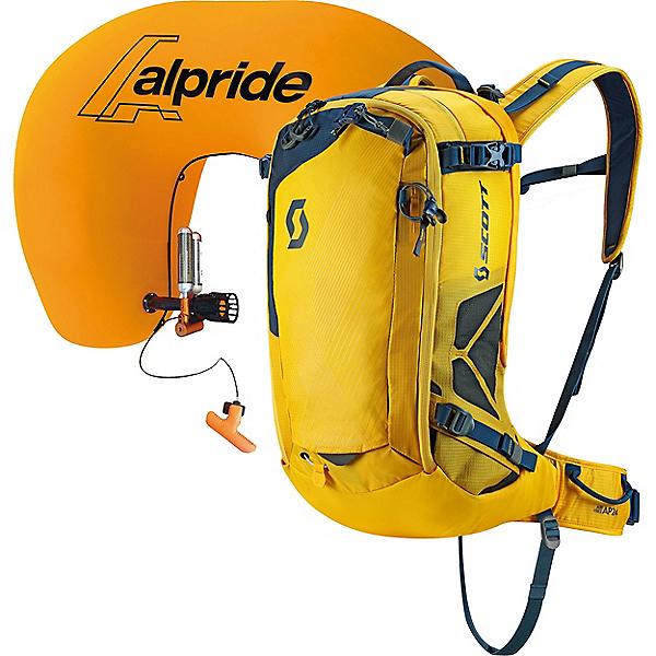 Scott Air Free AP 24 Airbag Kit, Citrus Yellow-Eclipse Blue, 600