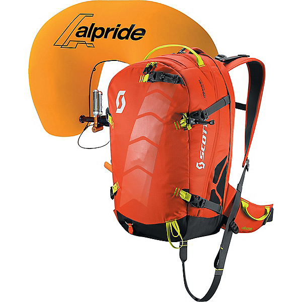 Scott Air Free AP 30 Airbag Kit, Orange-Grey, 600