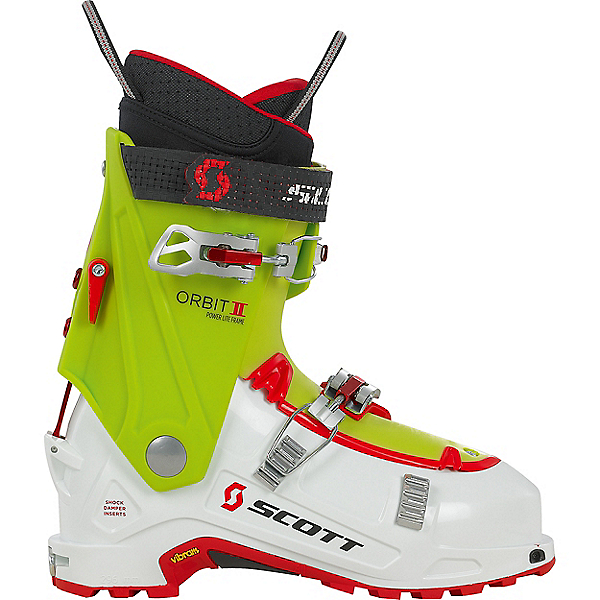 Scott Orbit II Alpine Touring Boot, White-Green, 600