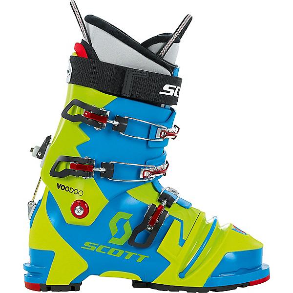 Scott Voodoo NTN Telemark Boot, Blue-Green, 600