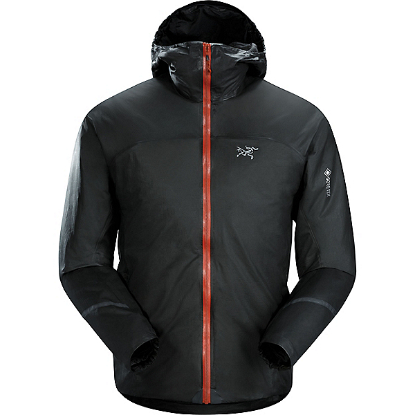 Arc'teryx Norvan SL Insulated Hoody - Men's - MD/Black-Infrared, Black-Infrared, 600