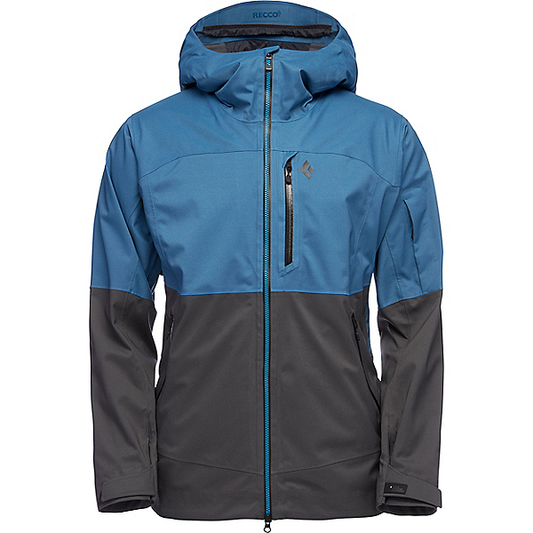 Black Diamond Boundary Line Mapp Insulated Jacket - Men's - XL/Astral Blue-Carbon, Astral Blue-Carbon, 600