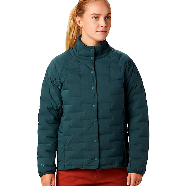 Mountain Hardwear Super D/S Shirt Jacket - Women's - LG/Blue Spruce, Blue Spruce, 600