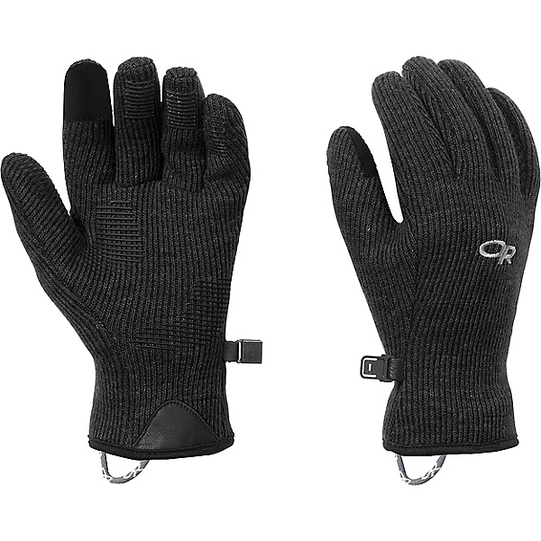 Outdoor Research W's Flurry Sensor Gloves - Women's, Black, 600