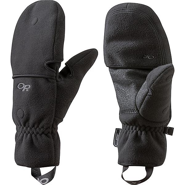 Outdoor Research Gripper Convertible Gloves - Men's - LG/Black, Black, 600