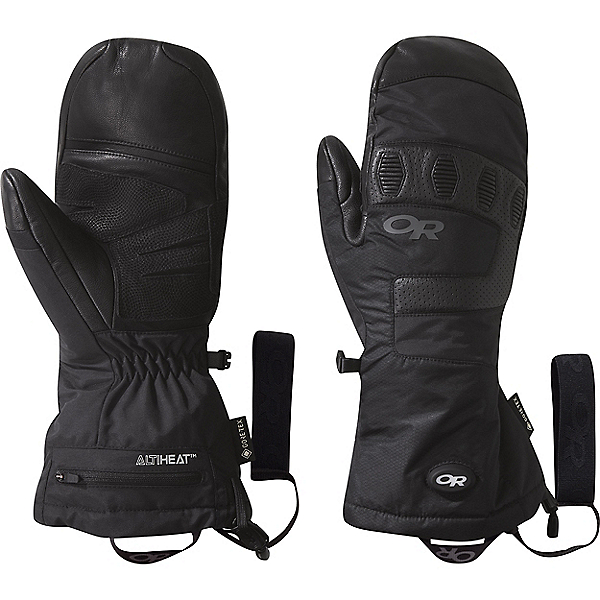 Outdoor Research Lucent Heated Sensor Mitts - Men's, Black, 600