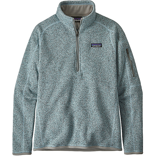 Patagonia Better Sweater 1/4 Zip - Women's - LG/Hawthorne Blue, Hawthorne Blue, 600
