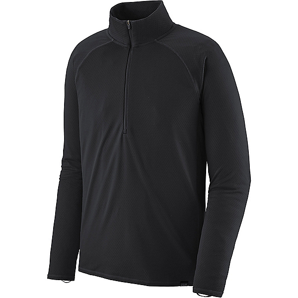 Patagonia Cap MW Zip Neck - Men's - XL/Black, Black, 600