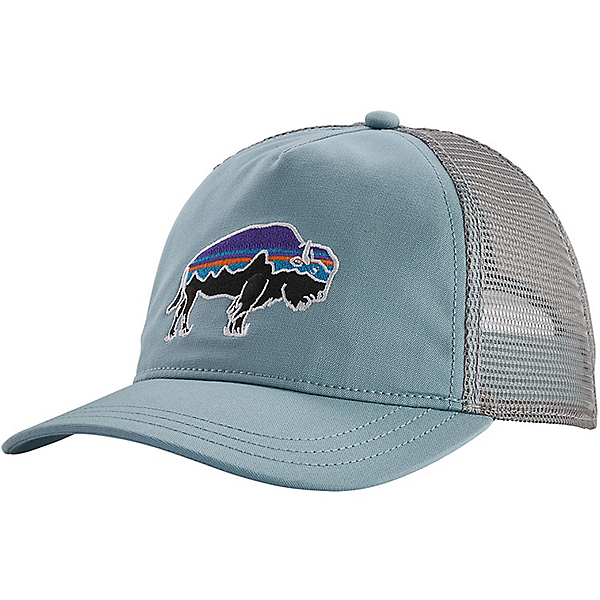 Patagonia Fitz Roy Bison Layback Trucker Hat - Women's, Big Sky Blue, 600