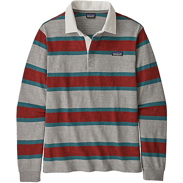 Patagonia L/S LW Rugby Shirt - Men's - XL/Rugby-Drifter Grey, Rugby-Drifter Grey, 600