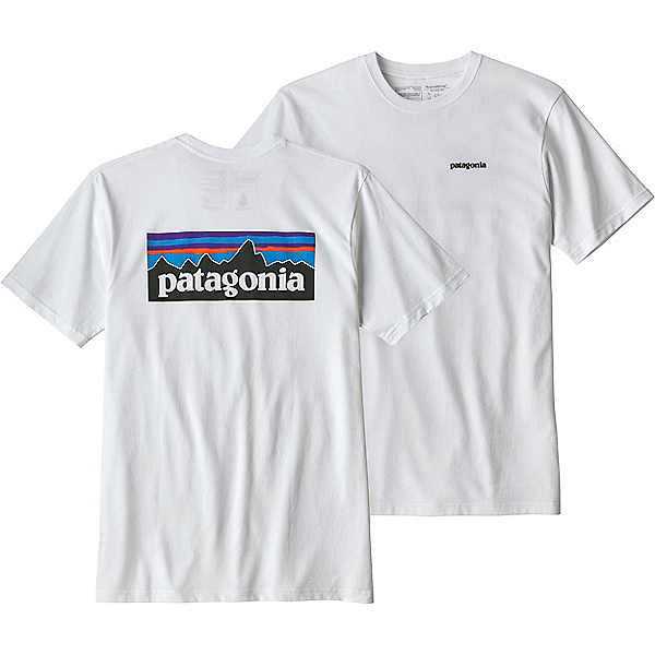 Patagonia P-6 Logo Responsibili-Tee - Men's, White, 600