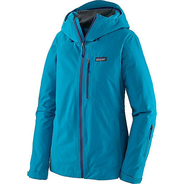 Patagonia Powder Bowl Jacket - Women's - LG/Curacao Blue, Curacao Blue, 600