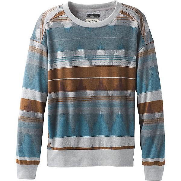 prAna Cozy Up Printed Sweatshirt - Women's - MD/Blue Note Eldorado, Blue Note Eldorado, 600