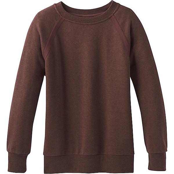 prAna Cozy Up Sweatshirt - Women's - LG/Cocoa Heather, Cocoa Heather, 600