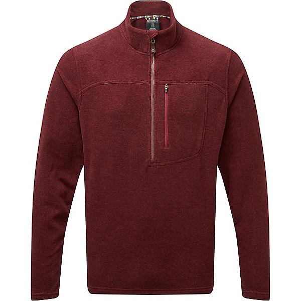 Sherpa Rolpa Zip Tee - Men's - XL/Potala Red, Potala Red, 600