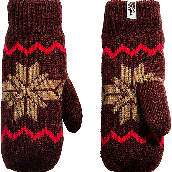 The North Face Fair Isle Mitt - Women's, , 600