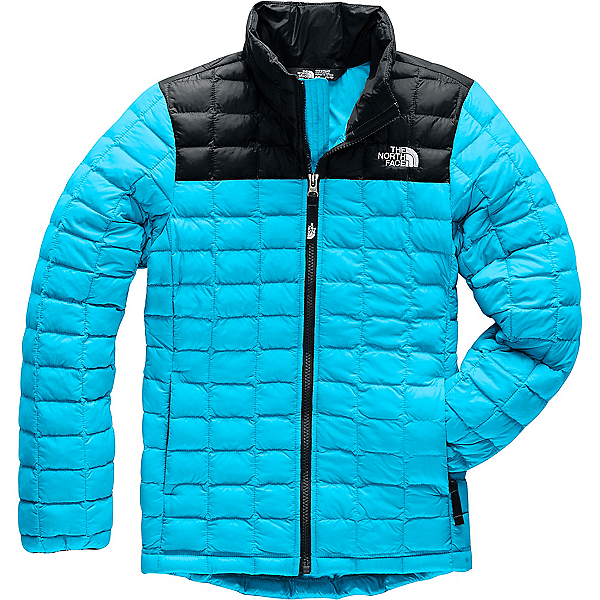 The North Face ThermoBall Eco Jacket - Girls' - LG/Turquoise Blue, Turquoise Blue, 600