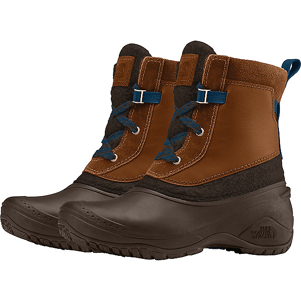 The North Face Shellista III Shorty - Women's, Demitasse Brown-Carafe Brown, 600