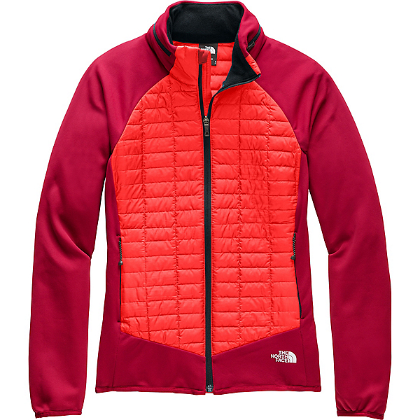 The North Face ThermoBall Hybrid Jacket - Women's - LG/Cardinal Red-Fiery Red, Cardinal Red-Fiery Red, 600