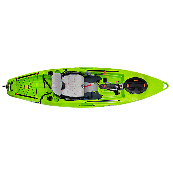 Feelfree Lure 11.5 Kayak with Overdrive Pedal Drive Solid Lime - Limited Edition, Solid Lime - Limited Edition, 600