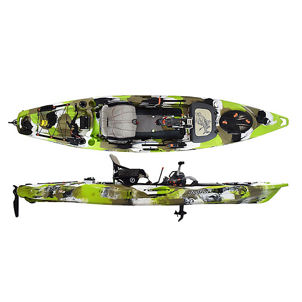 Feelfree Lure 13.5 Kayak with Overdrive Pedal Drive, , 600