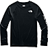 Youth Poly Warm Crew TNF Black