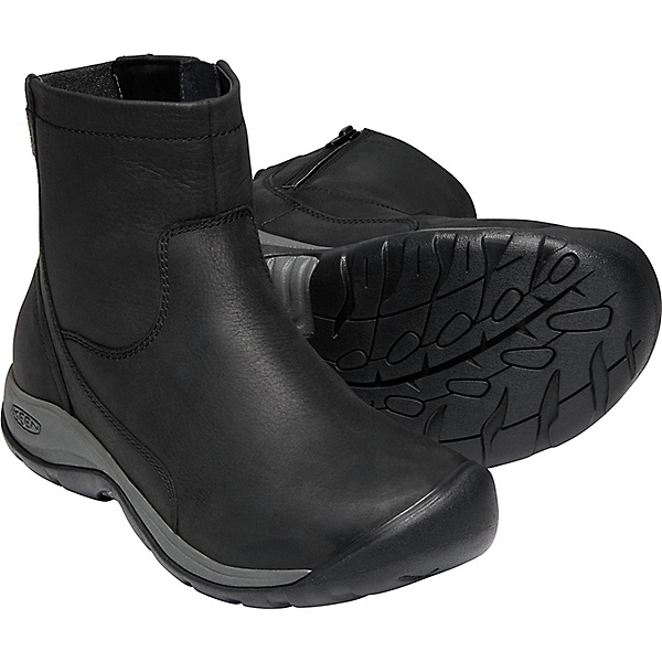 Keen Presidio II Mid Zip WP - Women's - 6/Black-Magnet, Black-Magnet, 600