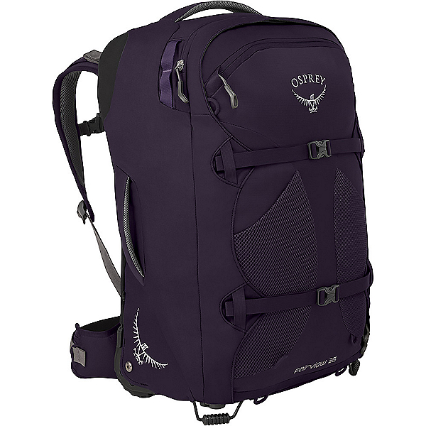 Osprey Fairview Wheeled Travel Pack 36 - Women's - None/Amulet Purple, Amulet Purple, 600