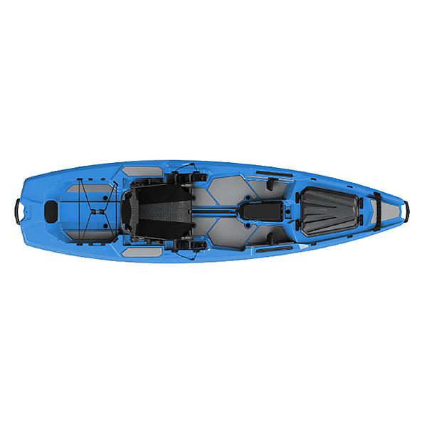 Bonafide SS107 Sit on Top Fishing Kayak, Cool Hand Blue, 600