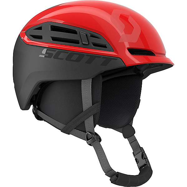 Scott Couloir Mountain Helmet, Rouge Red-Iron Grey, 600