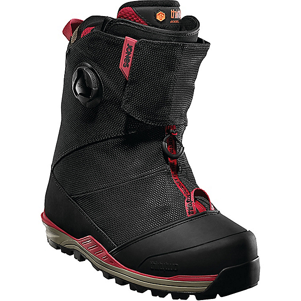 Thirty Two Jones MTB Boots - Men's - 8.5/Black-Tan-Red, Black-Tan-Red, 600
