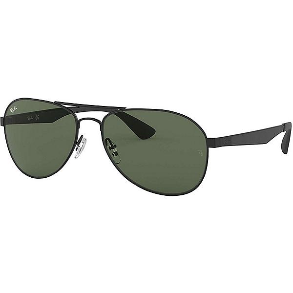 Ray Ban Aviator RB3549 Sunglasses, Black w-Green, 600